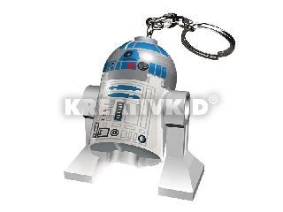 Lego Star Wars R2-D2 világító kulcstartó