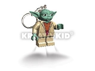 Lego Star Wars Yoda világító kulcstartó