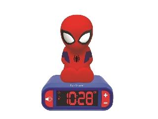 Lexibook Pókember ébresztő óra éjszakai fénnyel és hangeffektekkel