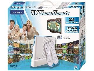 Lexibook TV-re csatlakoztatható konzol játék vezeték nélküli kontroller 221 játékkal