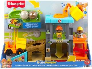 Fisher Price Little People Építkezés