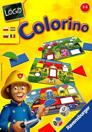 Logo - Colorino társasjáték