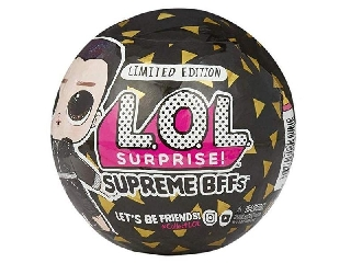 L.O.L Surprise Meglepetés babák - legjobb barátok - fekete