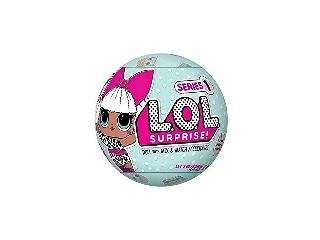 L.O.L Surprise nagy gömb - babák + pezsgő kiegészítők
