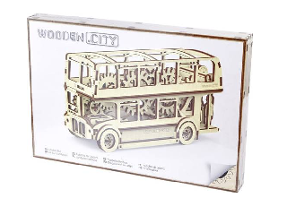 WOODEN CITY - LONDON BUSZ