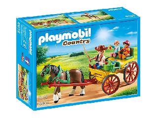 Playmobil Lovaskocsi