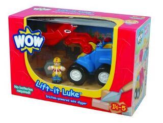 Luke kis markolóautója