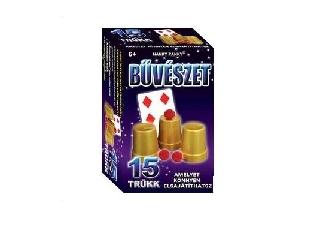 Magic Show bűvészdoboz - 15 trükk - Poharak és golyók