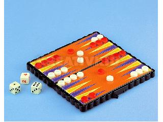 Mágneses játék - kicsi - Backgammon