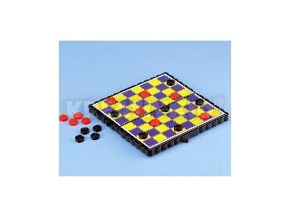 Mágneses játék - kicsi - Dáma