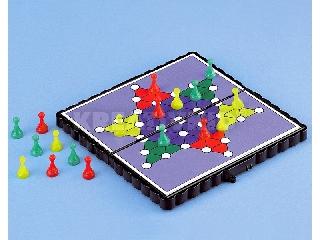 Mágneses játék - kicsi - Halma