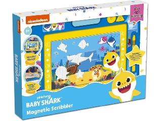 Sambro mágneses rajztábla közepes - Baby Shark