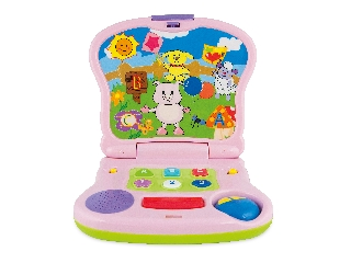 Malacka junior laptop bébijáték - angol
