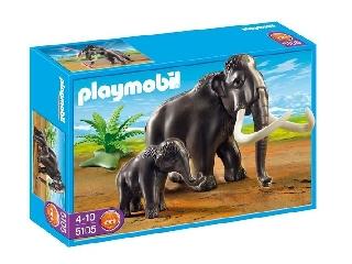 Mamut és kölyke
