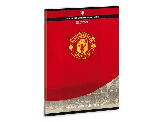 Manchester United füzet A/4-es kockás