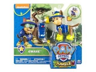 Mancs őrjárat - Dzsungel akciófigura - Chase