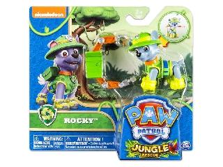 Mancs őrjárat - Dzsungel akciófigura - Rocky