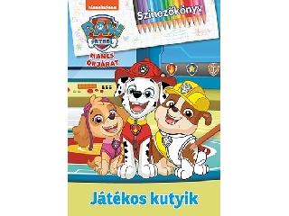 Mancs őrjárat - Játékos kutyik - Színezőkönyv