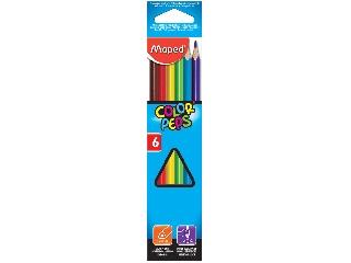 Maped - Háromszögletű színes ceruza készlet - Color Peps