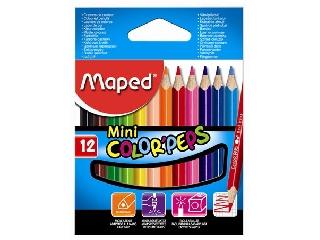 Maped - Háromszögletű színes ceruza készlet - Color Peps mini - 12 szín