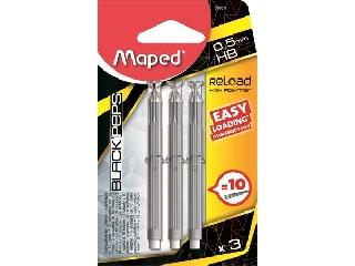 Maped - HB Grafitbél utántöltő patron - 0,5 mm
