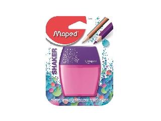 Maped - Shaker kétlyukú, tartályos hegyező - pink