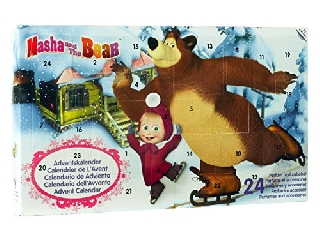 Mása és a medve adventi kalendárium