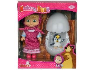 Masha Pingvin a tojásban ( kiugrik )
