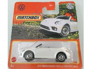 Matchbox 1:64  2019 Volkswagen Beetle Convertible