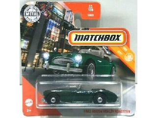 Matchbox 1:64 Austin Healey roadster