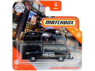 Matchbox 1:64 Ford Interceptor Utility 2016