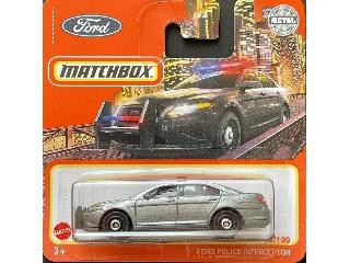 Matchbox 1:64 Ford Police Interceptor