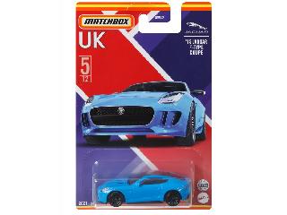 Matchbox Egyesült Királyság autói Jaguár F-type Coupe 2015