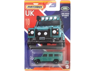 Matchbox Egyesült Királyság autói Land Rover Defender