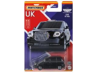 Matchbox Egyesült Királyság autói Levc Tx taxi