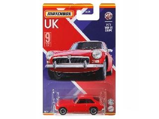 Matchbox Egyesült Királyság autói MGB Gt Coupe 1971