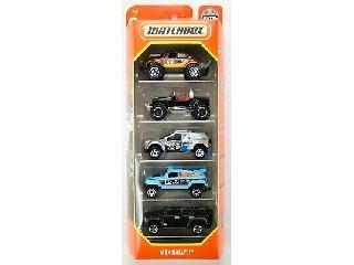 Matchbox Kisautók 5 darabos MBX Rally II