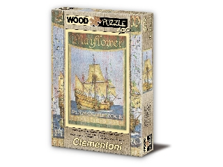 A Mayflower 500 db-os fa puzzle