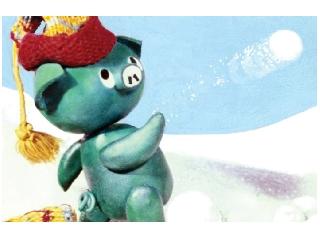 Mazsola és a hóember diafilm