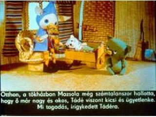 Mazsola és Tadé diafilm