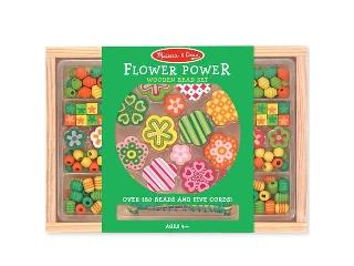 M&D - Fa gyöngy szett - Virágok