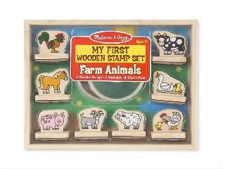 M&D - Fa nyomda készlet - Első nyomdám: Farm állatai