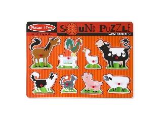 M&D - Hangos puzzle: Farm állatok
