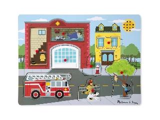 M&D - Hangos puzzle: Tűzoltóállomás