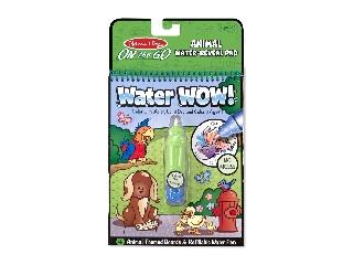 M&D - Kreatív játék - Rajzolás vízzel: Állatok