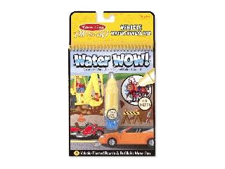 M&D - Kreatív játék - Rajzolás vízzel: Járművek