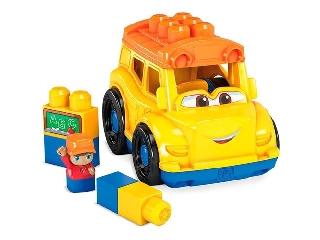 Mega Bloks járművek Iskolabusz