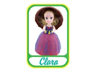 Meglepi fagyikehely baba - Clara (barna-piros)