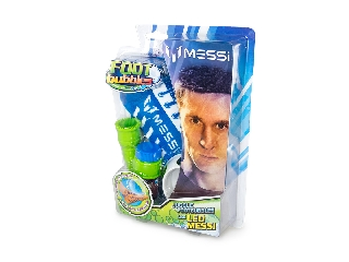 Messi buborékfoci kezdő szett kék (1 pár zoknival)