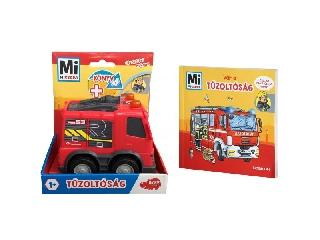 Mi MICSODA: Tűzoltóság - könyv és kisautó
